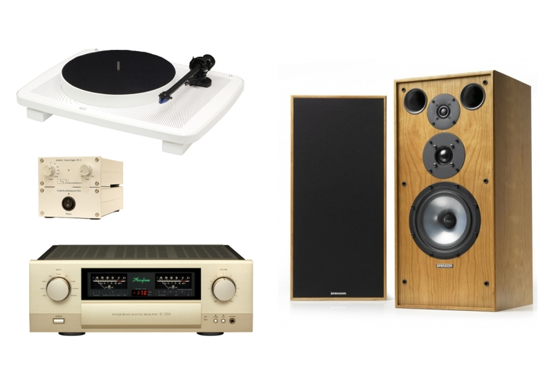 Accuphase + LPS + Music Hall + Spendor SP1/2R2